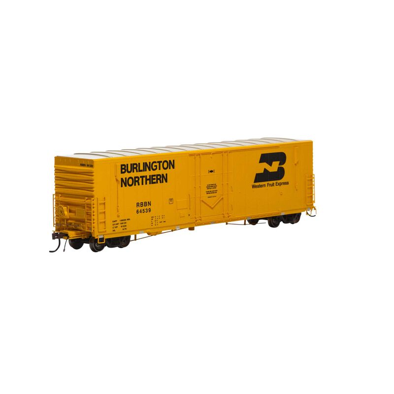 """HO 50' PC&F Welded Box with 10' 6"""" Door RBBN #64539"""