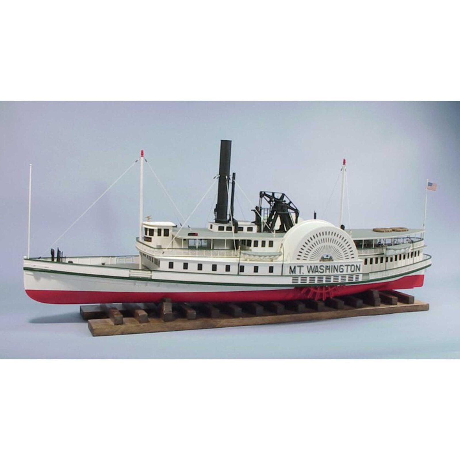 """1/48 The Mount Washington Boat Kit, 44"""""""