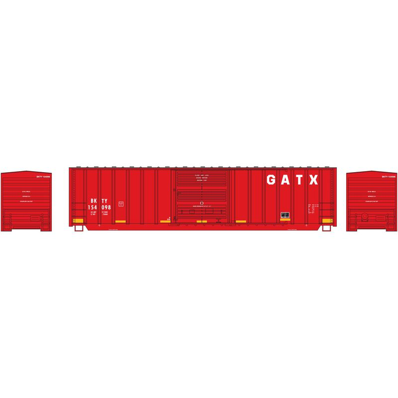 N 50' Berwick Box GATX #154098
