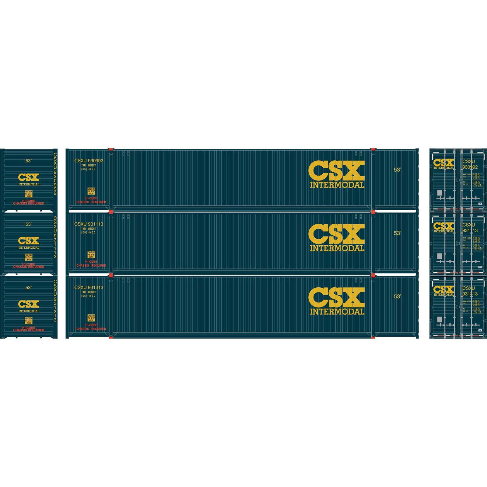 N 53' CIMC Container, CSX #1 (3)