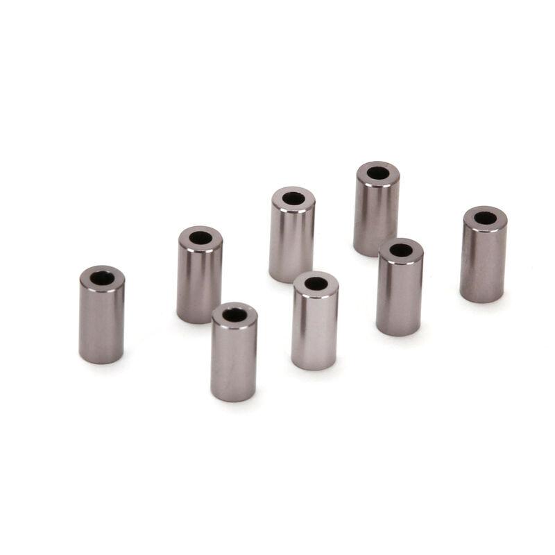 Link Spacers, Aluminum, 3x6x12mm (8)