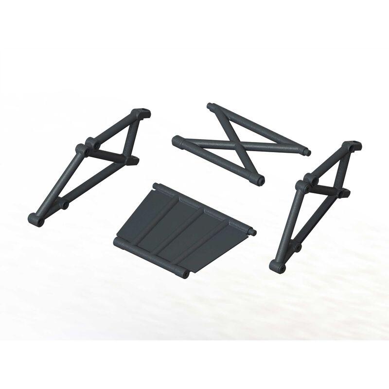 Rear Bumper Frame Set