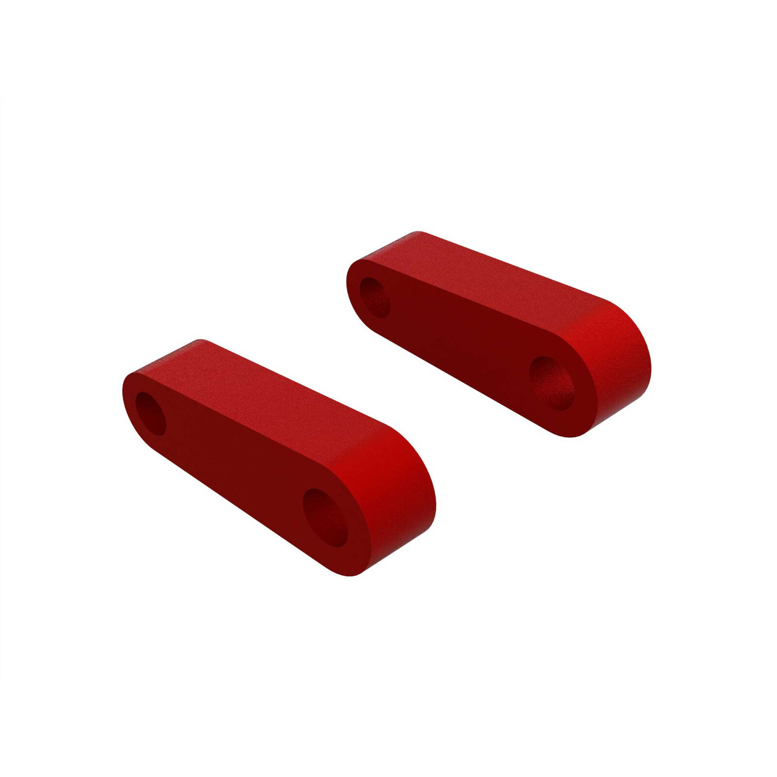 Aluminum Fr Suspension Mounts, Red (2)