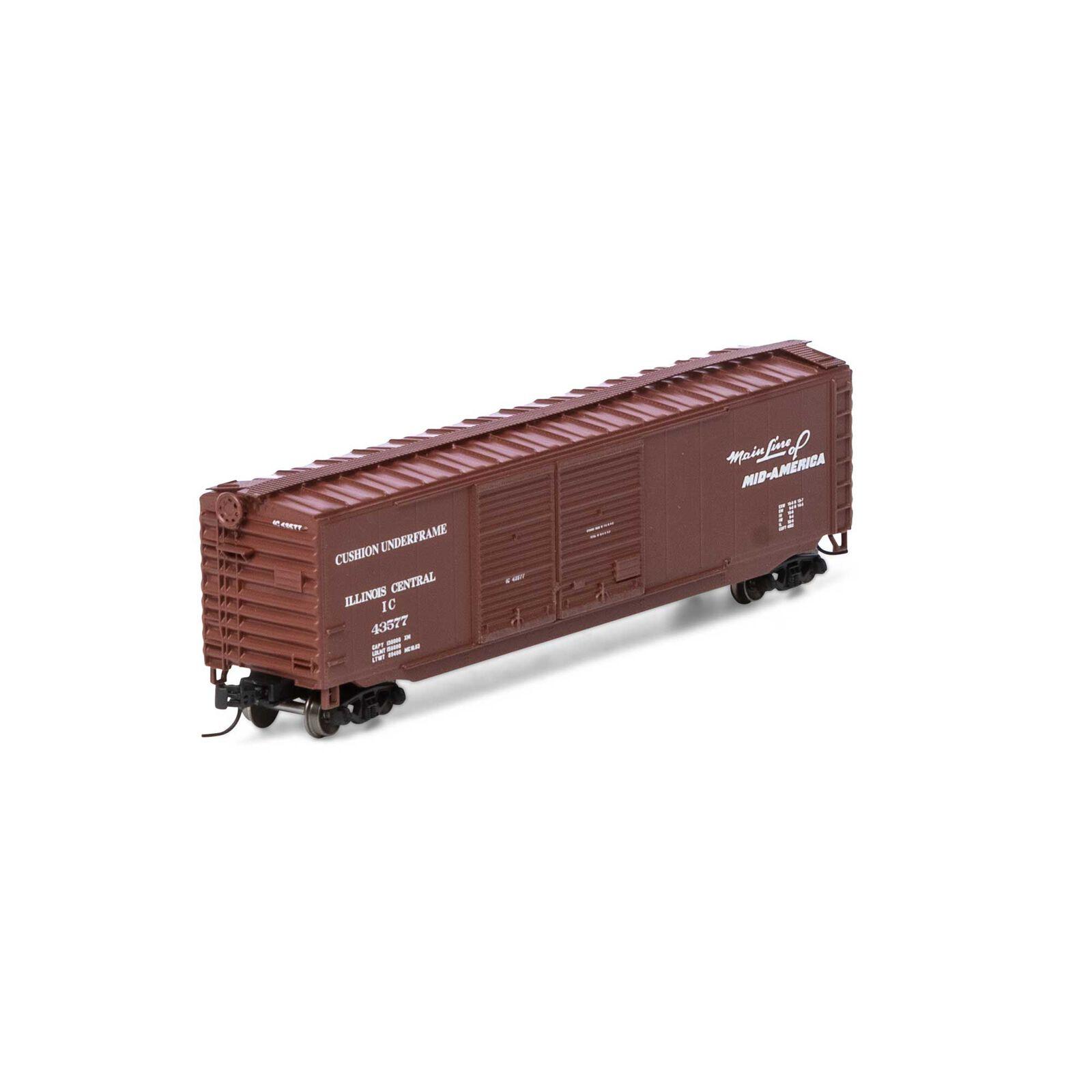 N 50' Double Sliding Door Box IC #43577