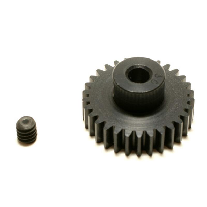 48P Hard Coated Aluminum Pinion Gear, 30T