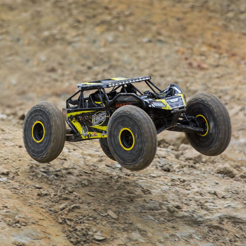 1/10 Rock Rey 4WD Brushless RTR with AVC