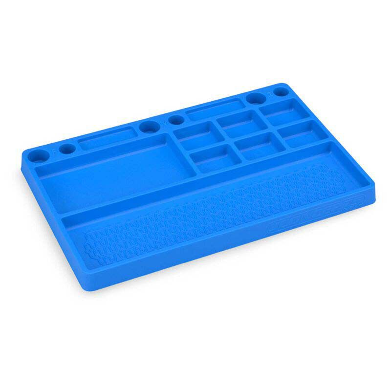 Parts Tray Rubber Material Blue