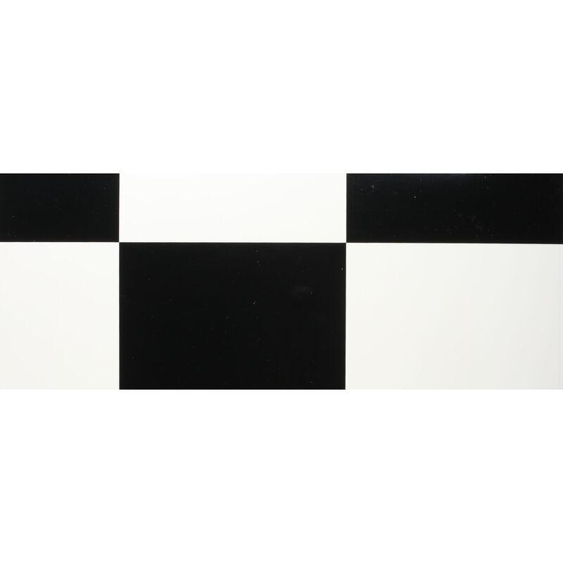 "UltraCote, 1/2"" Squares, White/Blk"