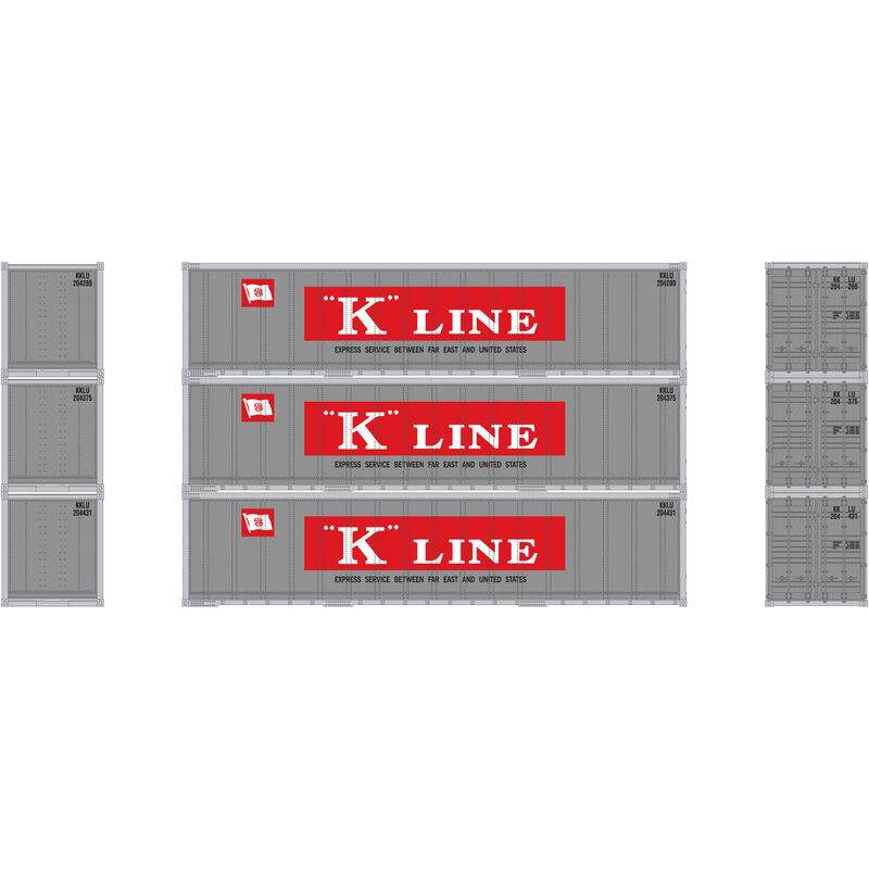 N 40' Smooth Side Container KLINE (3)