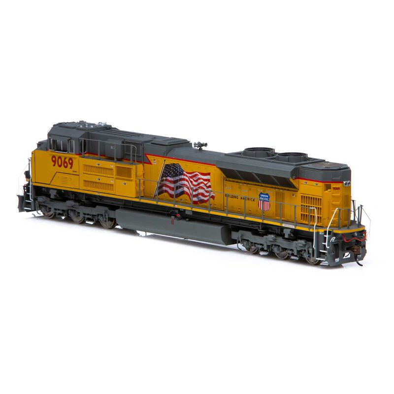 HO SD70ACe (SD70AH) with DCC & Sound UP #9069
