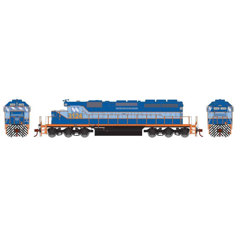 HO RTR SD40-2 Ferromex Ex-NDM #3124