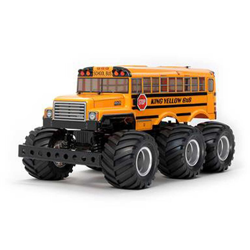 1/18 King Yellow 6x6 G6-01 4WD Monster Truck Kit