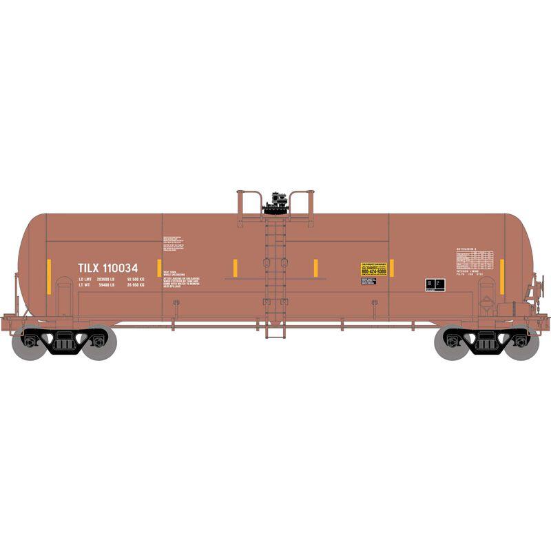 HO RTR 20,900-Gal Acid Tank,TILX/Red/Brown #110034