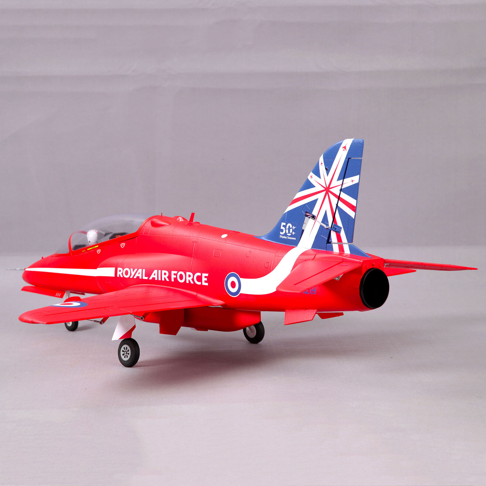 BAE Hawk Red Arrow 80mm EDF PNP