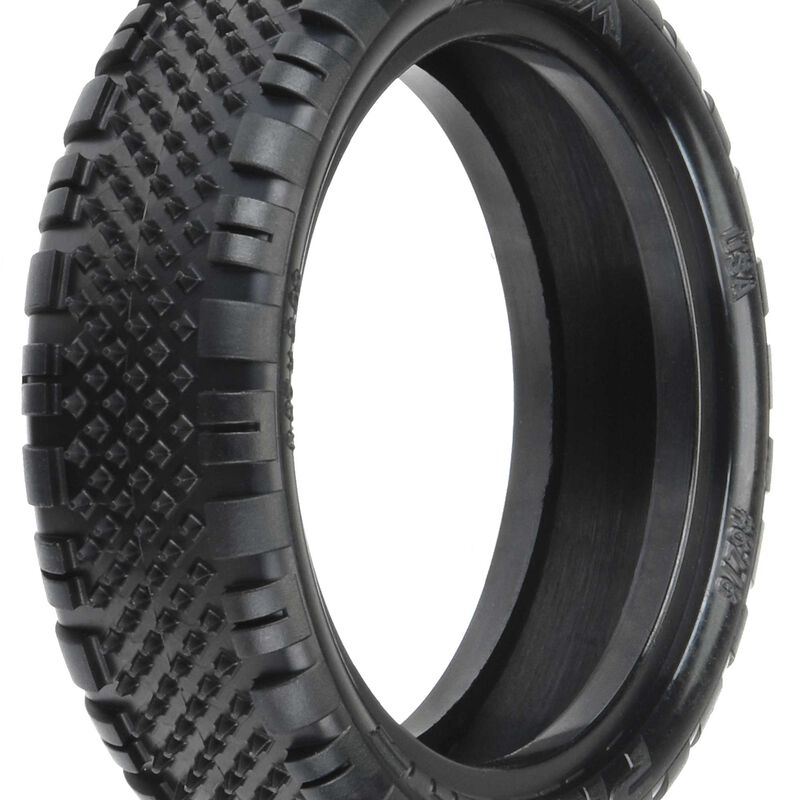"""Prism, 2.2"""" 2WD Z3 Off-Road Carpet Buggy Tires, Front (2)"""