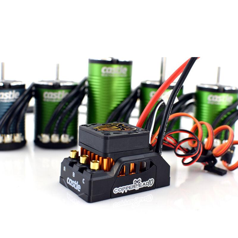 1/10 COPPERHEAD 1410-3800KV 5mm SHAFT Sensored Brushless ESC/Motor COMBO