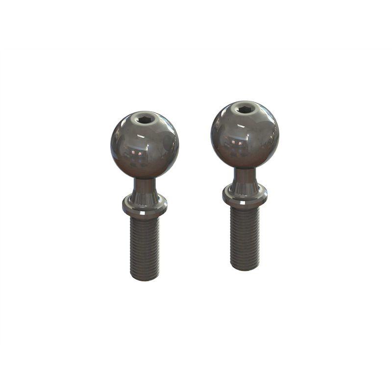 Pivot Ball, Fine Thread M6x14x37mm (2): EXB