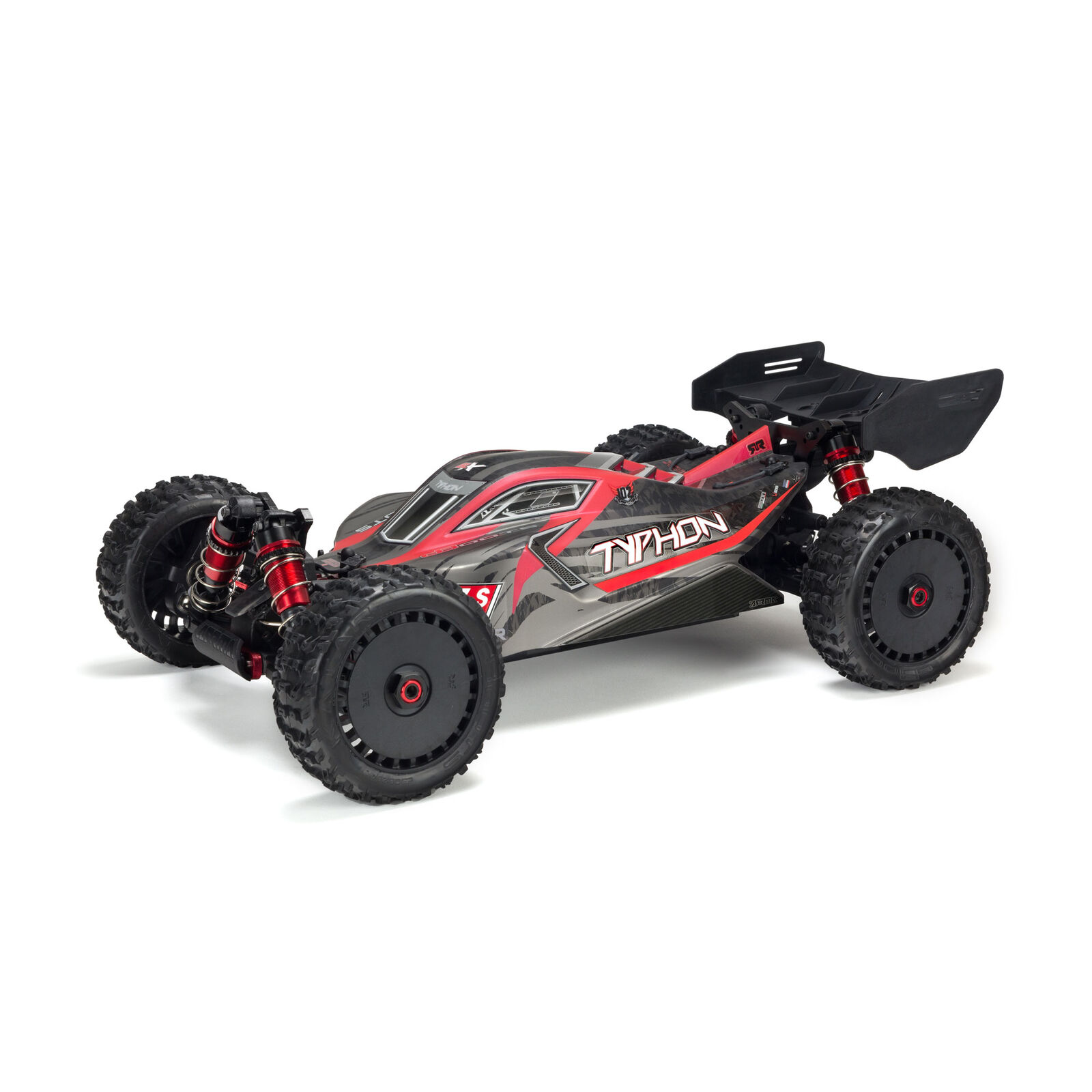 1/8 Painted Body with Decals, Black/Red: TYPHON 6S