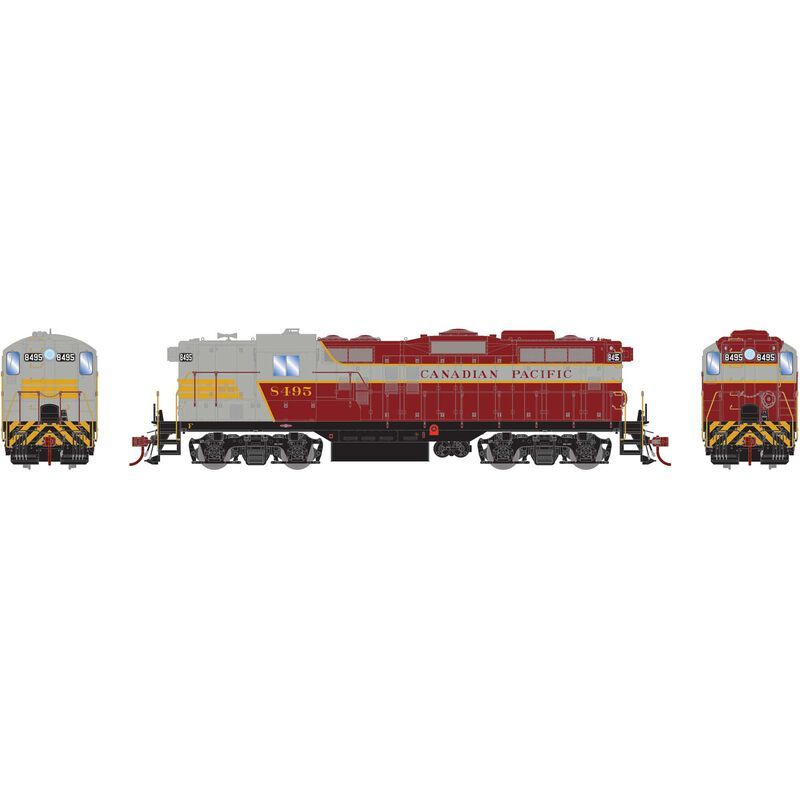 HO GP9 with DCC & Sound, CPR #8495