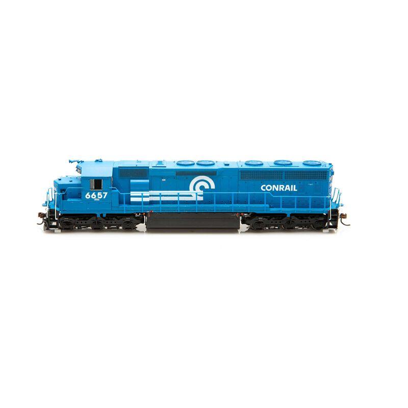 HO SD45-2, CR Blue Early #6657