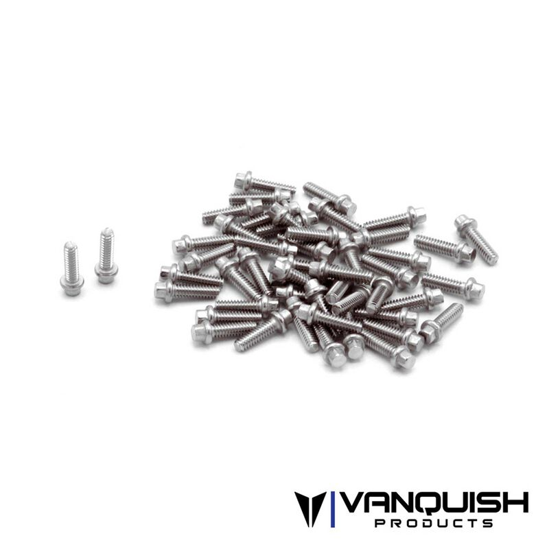 Hex Scale Stainless Wheel Screw Kit