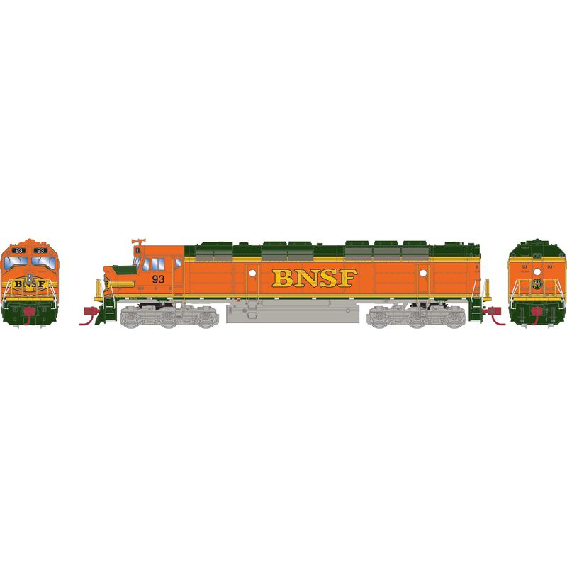 N FP45 with DCC & Sound, BNSF #93