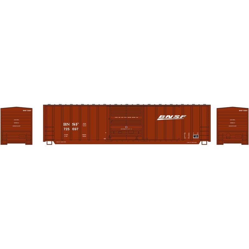 N 50' Berwick Box BNSF #725697