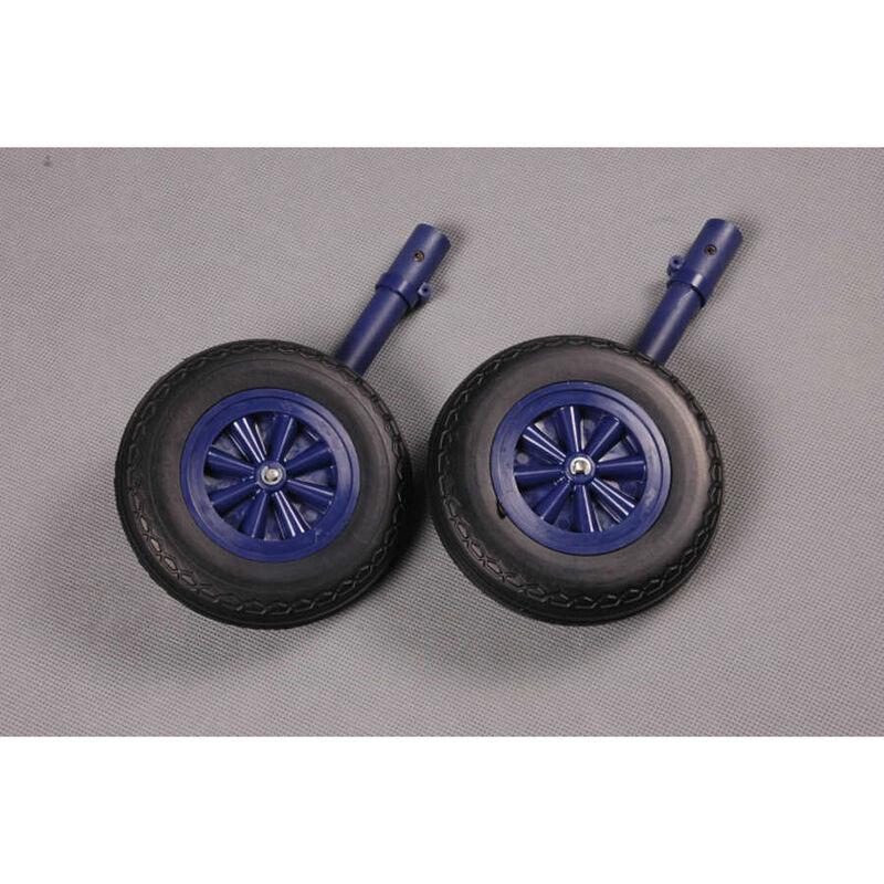 Frt Land Gear Blue  F4U 1700mm