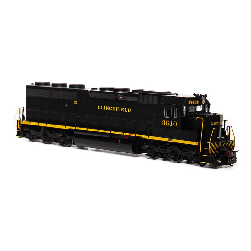 HO SD45-2 with DCC & Sound CRR #3610