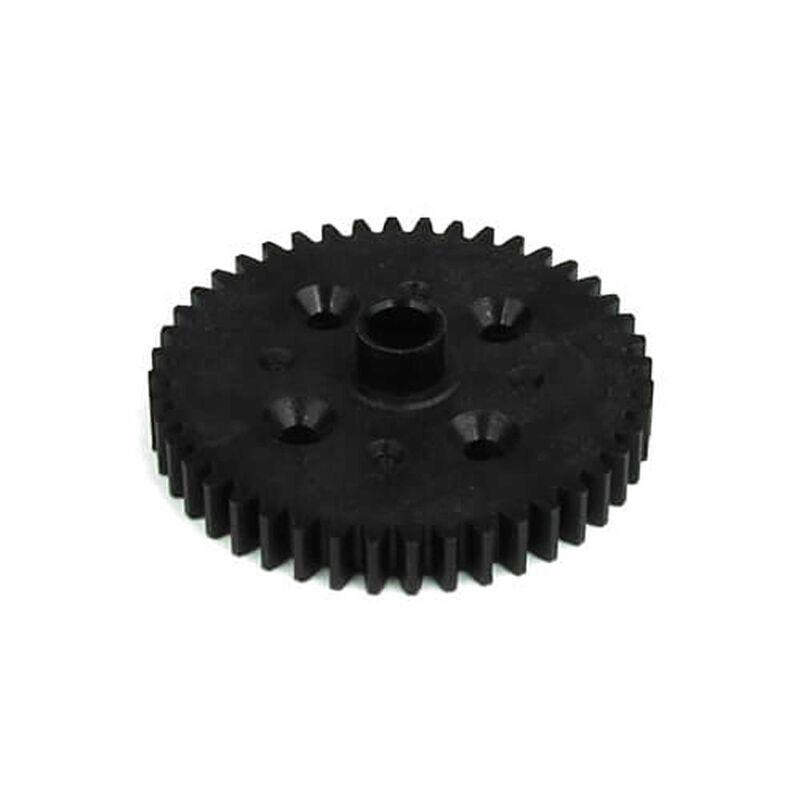 Spur Gear, 44T, Black Composite: EB48