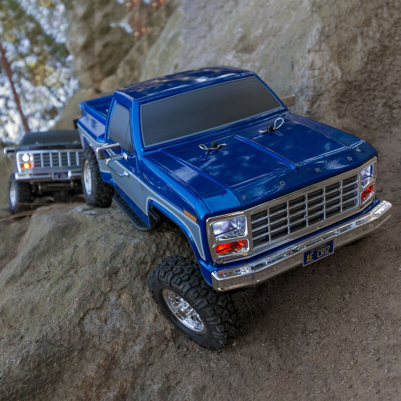 1/12 CR12 Ford F-150 Pick-Up 4WD Brushed RTR, Blue