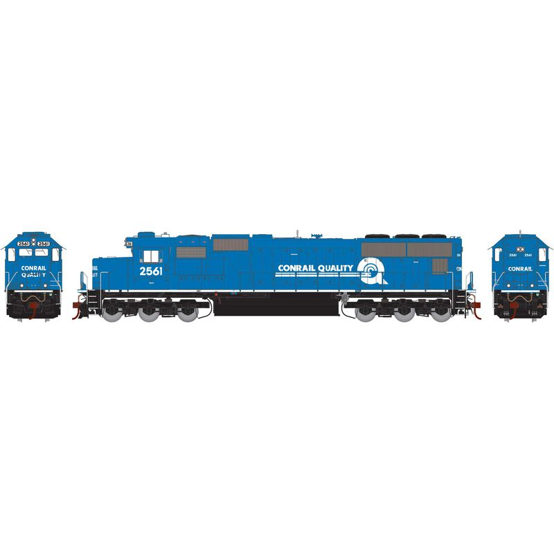 HO SD70 with DCC & Sound, CR #2561