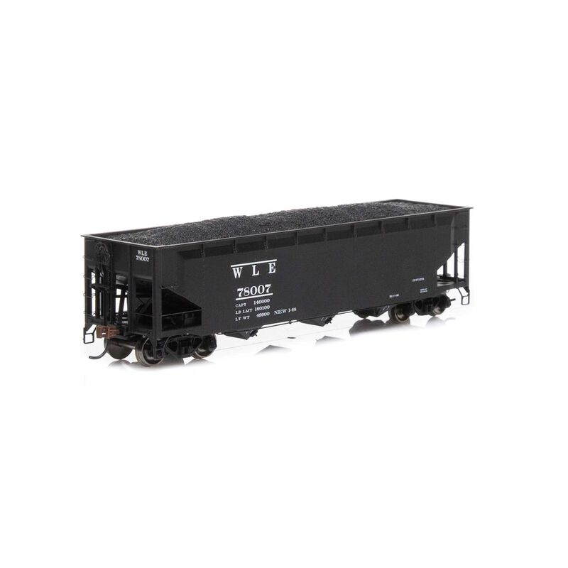 HO RTR 40' 3-Bay Offset Hopper with Load W&LE #78007