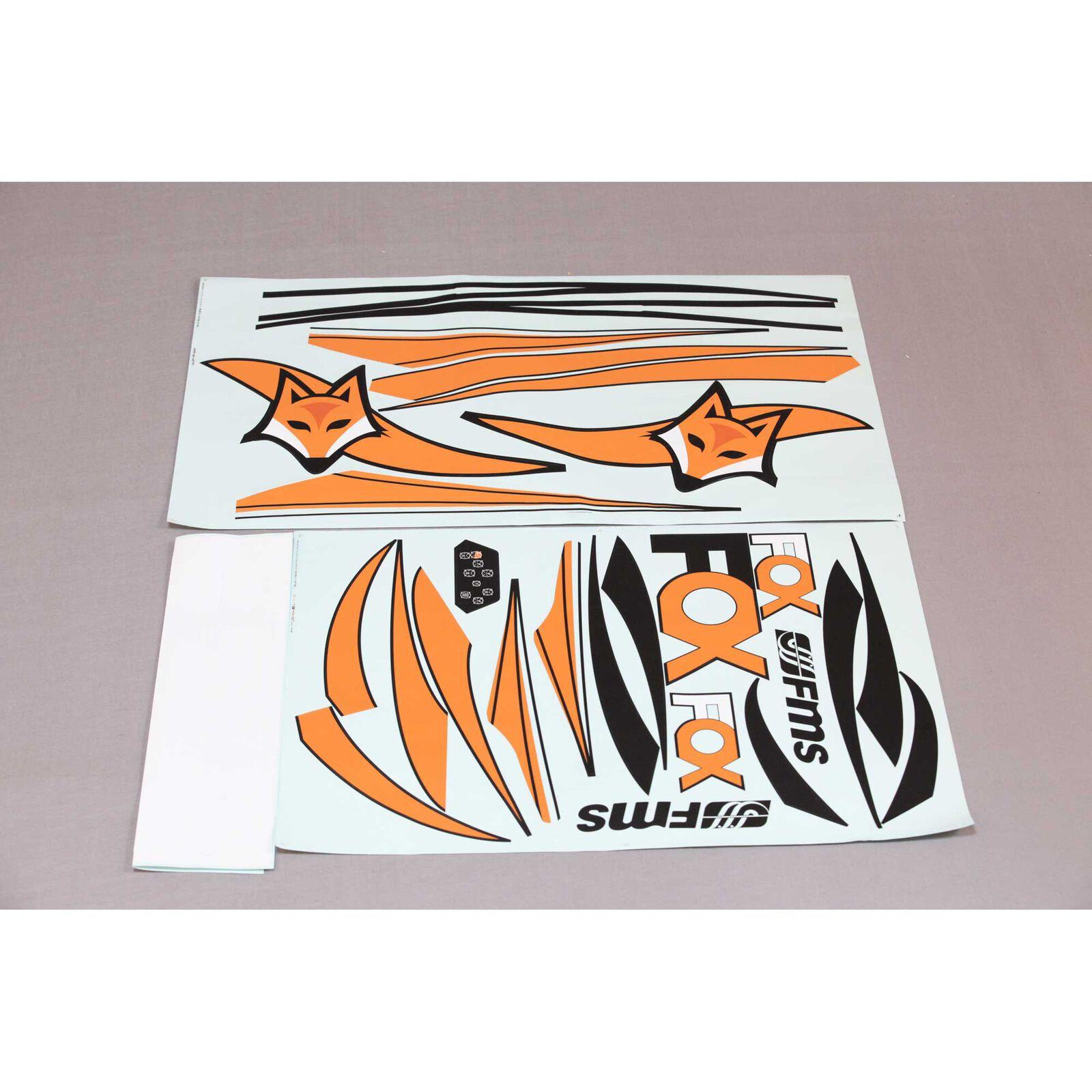 Decal Sheet: Fox EP Glider, 3000mm