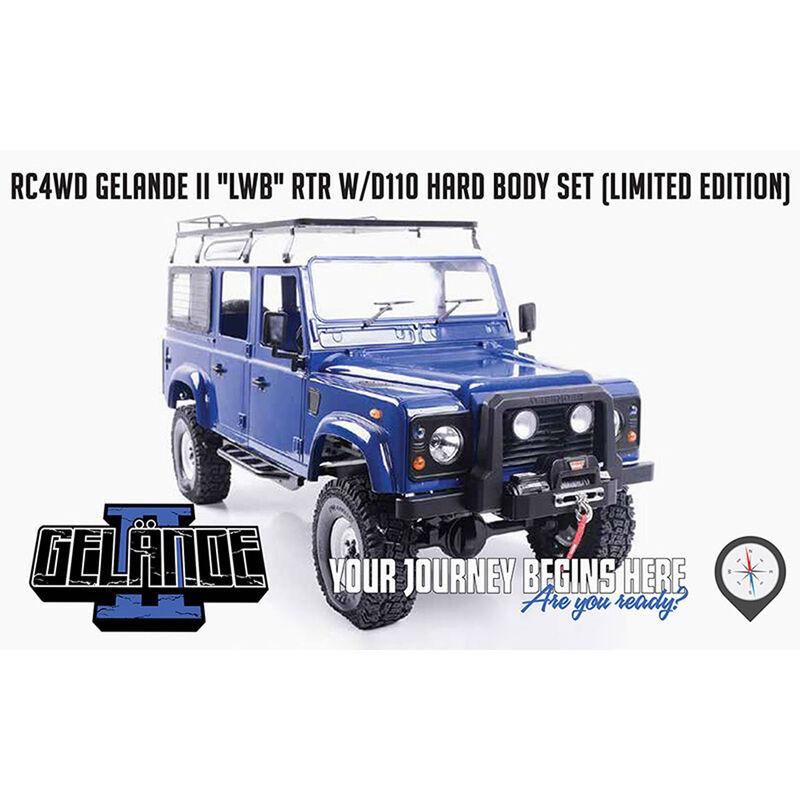 1/10 Gelande II LWB 4WD RTR with D110 Body Set, Collector's Edition