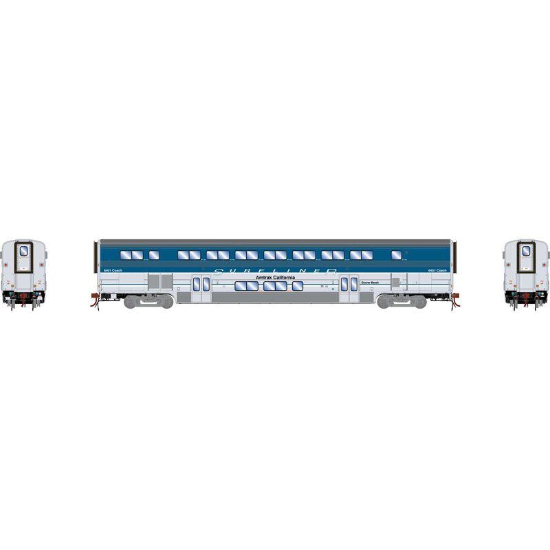 HO Surfliner Coach with Lights & Sound, Amtrak #6401