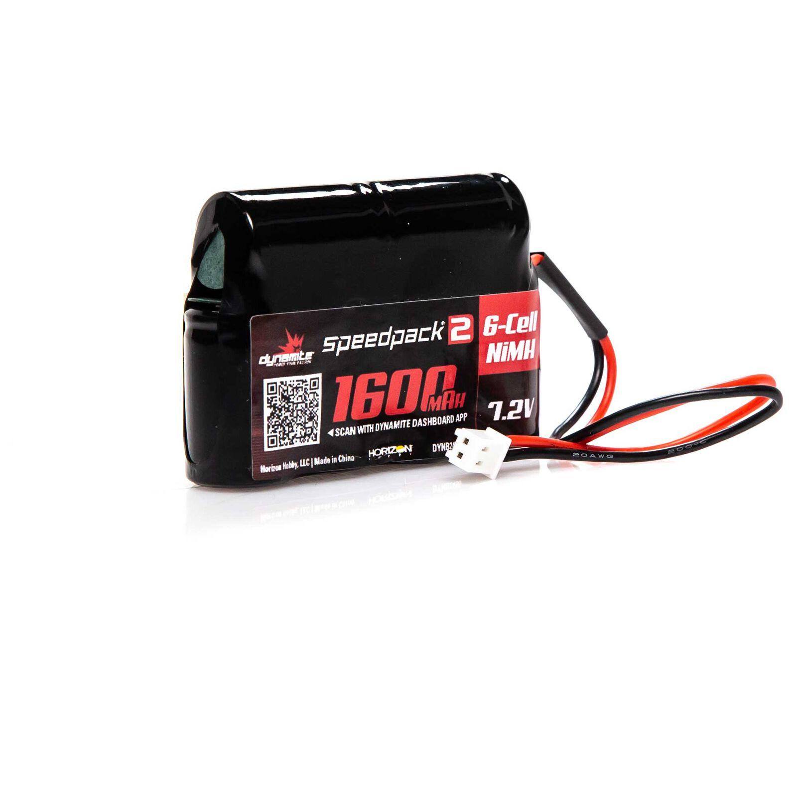 Speedpack2 7.2V 1600mAh 6C NiMH, MINI-T, MINI-LST2