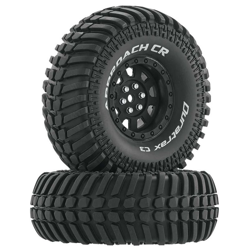 "Approach CR C3 Mounted 1.9""Crawler Tires, Black (2)"