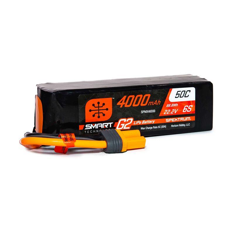22.2V 4000mAh 6S 50C Smart LiPo G2: IC5