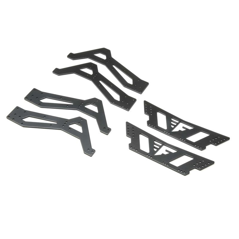 Chassis Plate Set Aluminum: Northwood