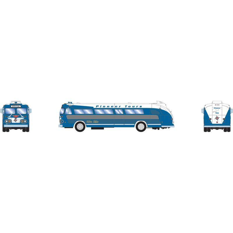 N Intercity Bus Pioneer Tours Special #D80