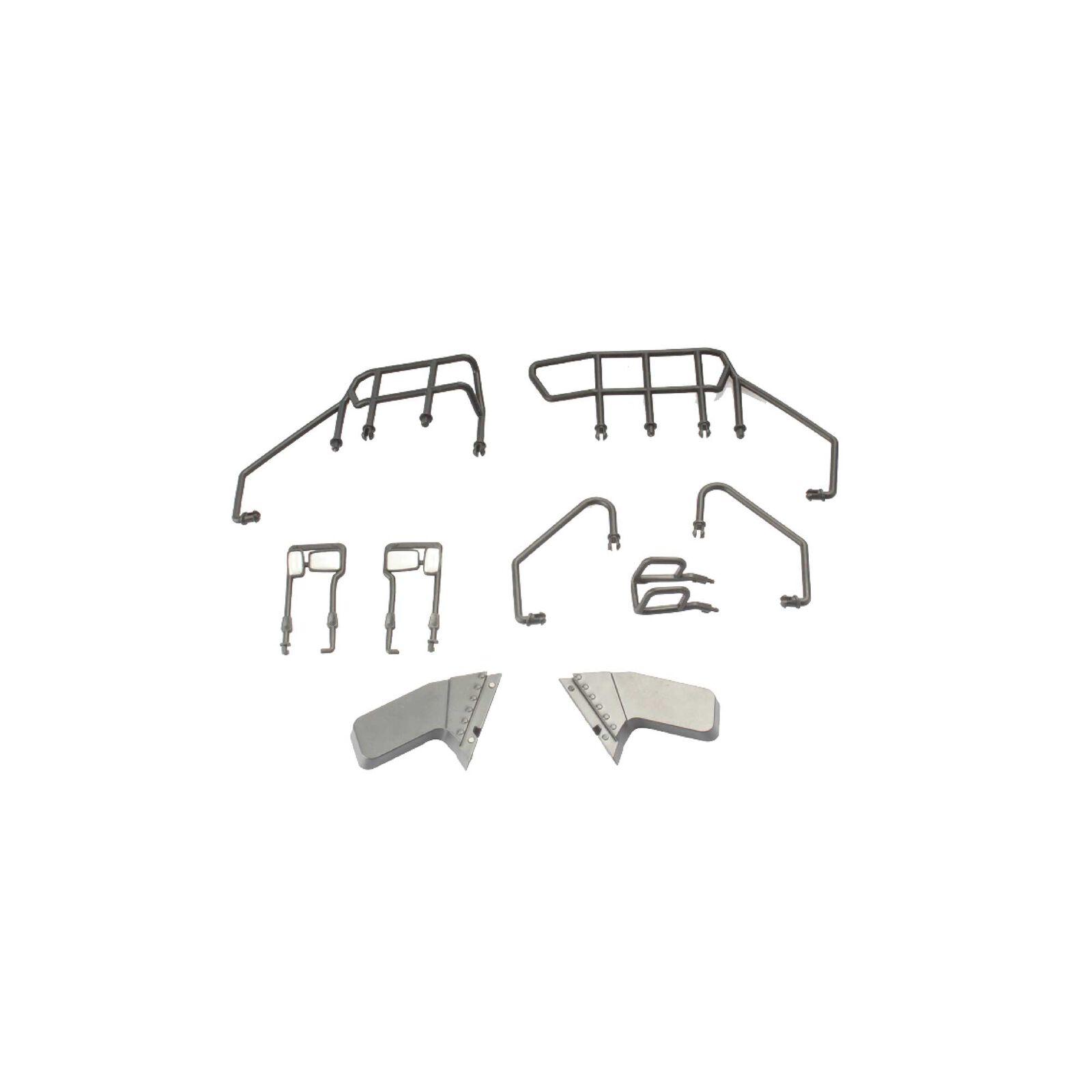 Handrail Mirror Fender Kit: Caterpillar Articulated Truck
