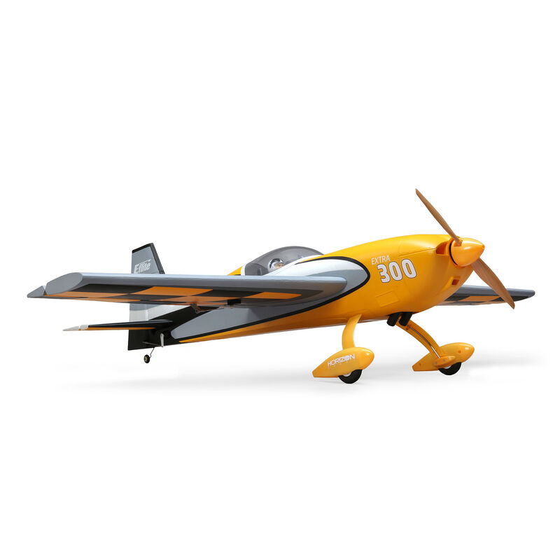 EFL115500 Transmitter, Battery and Charger Not Included with AS3X and Safe Select E-flite RC Airplane Extra 300 1.3m BNF Basic