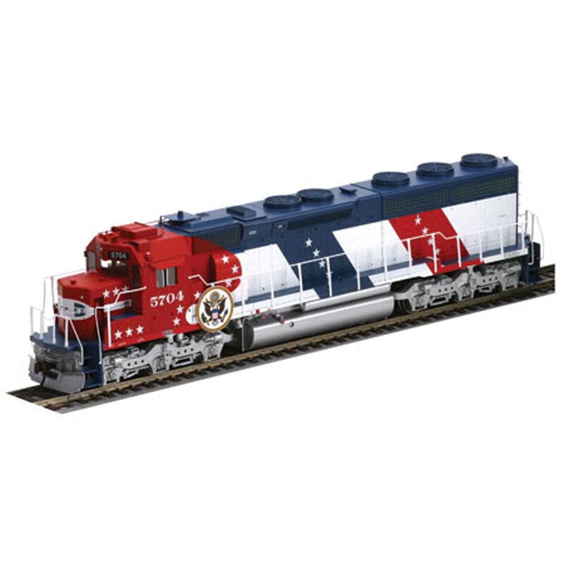 HO SD45-2 SF Bicentennial #5704