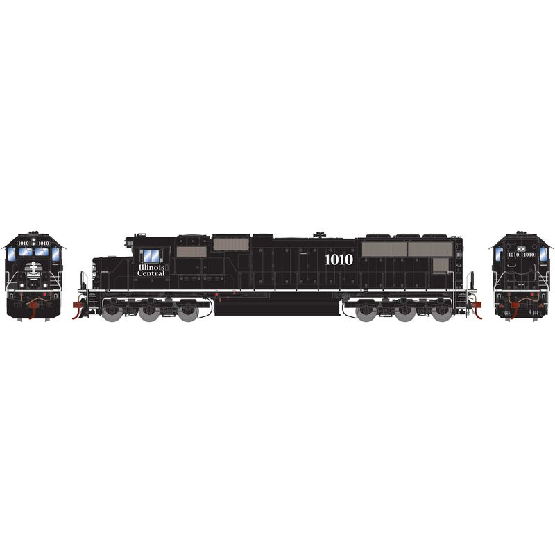 HO SD70 with DCC & Sound, IC #1010