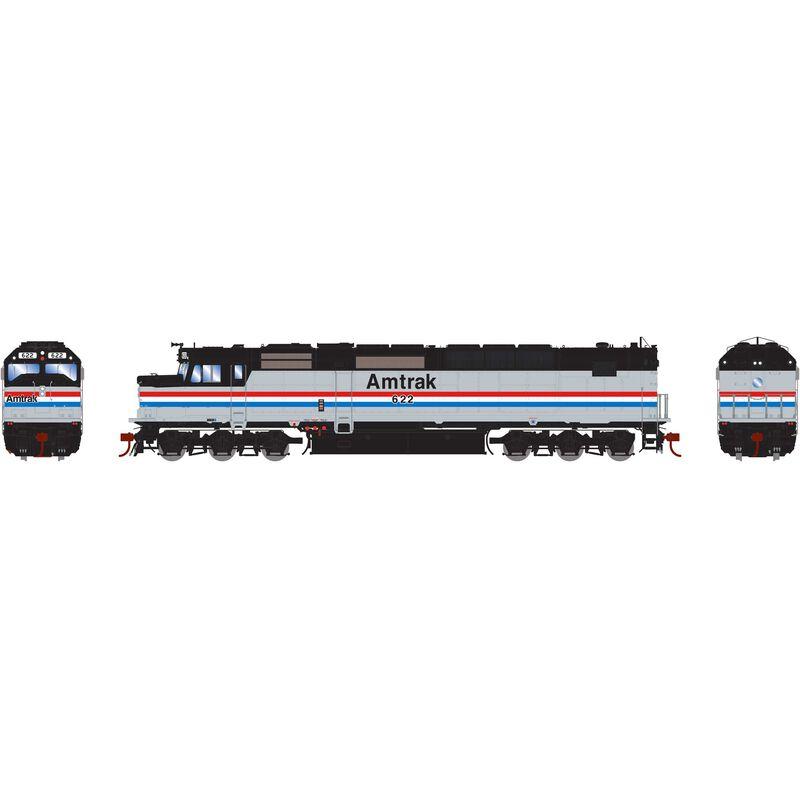 HO SDP40F Amtrak #622