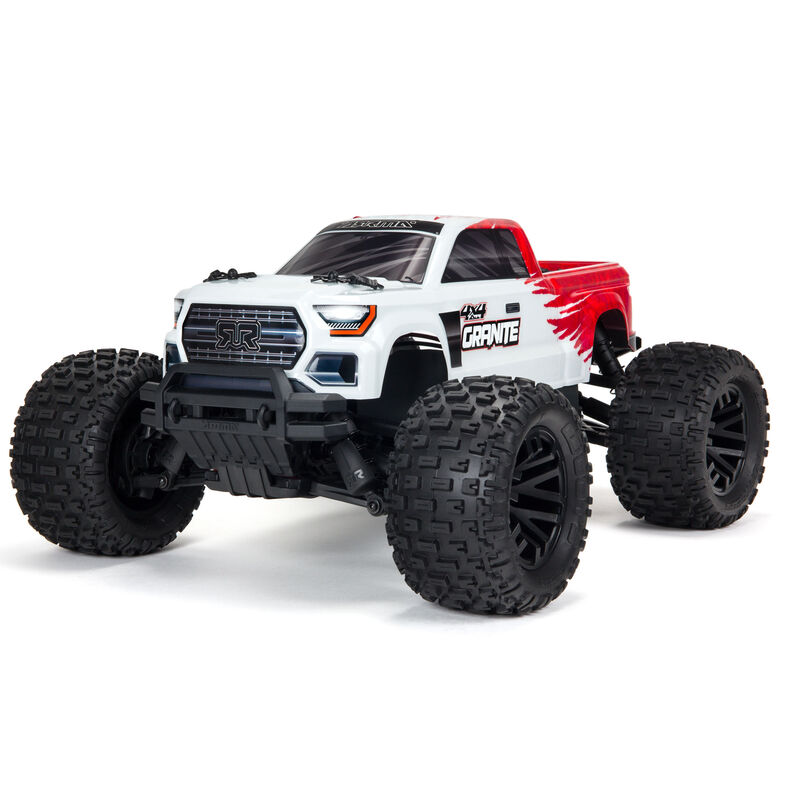 1/10 GRANITE 4X4 V3 MEGA 550 Brushed Monster Truck RTR, Red