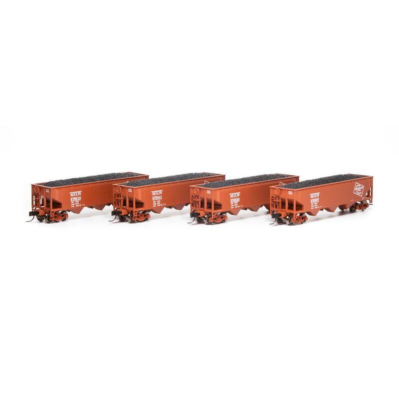 N 40' 3-Bay Offset Hopper with Load MILW #1 (4)