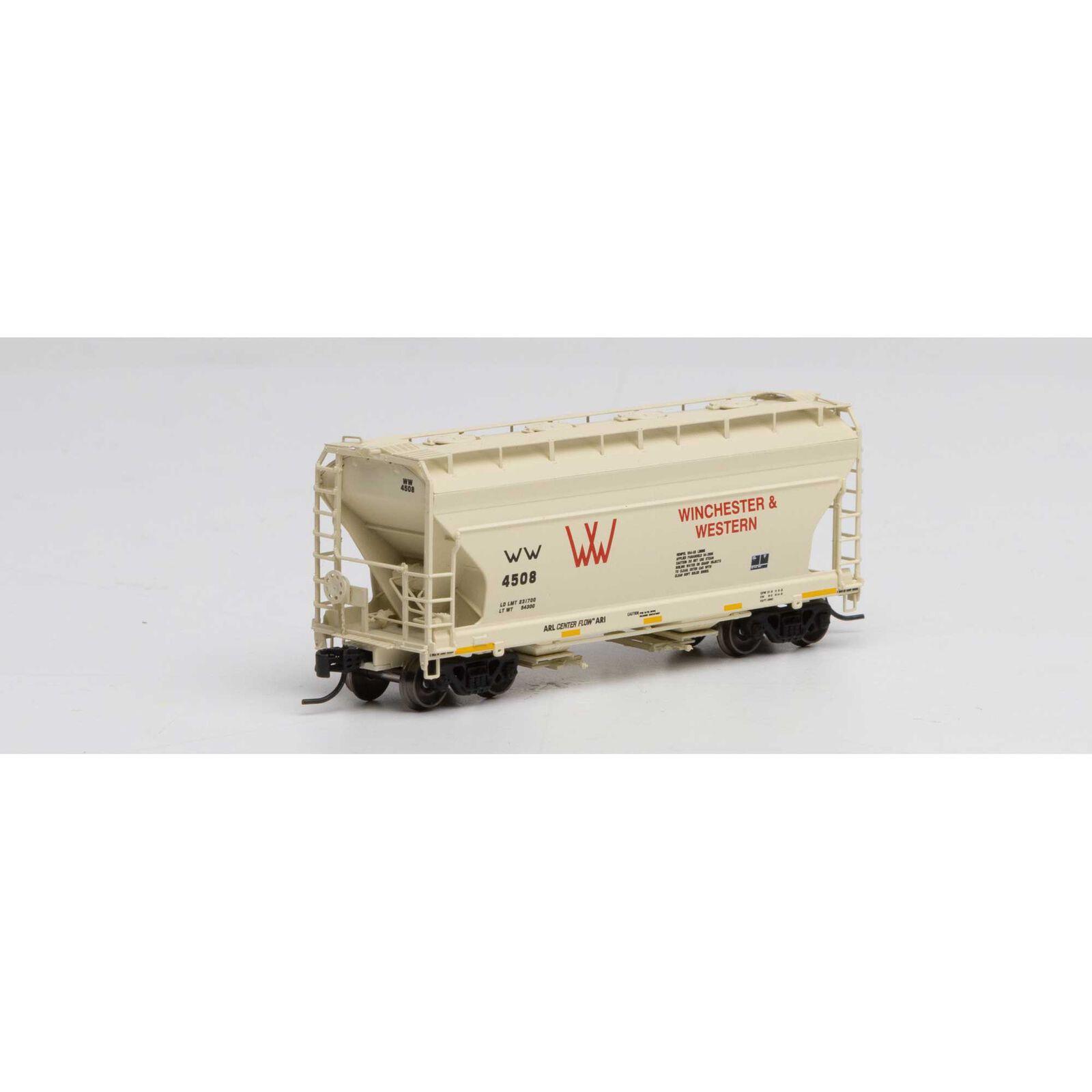 N ACF 2970 Covered Hopper, W&W #4508