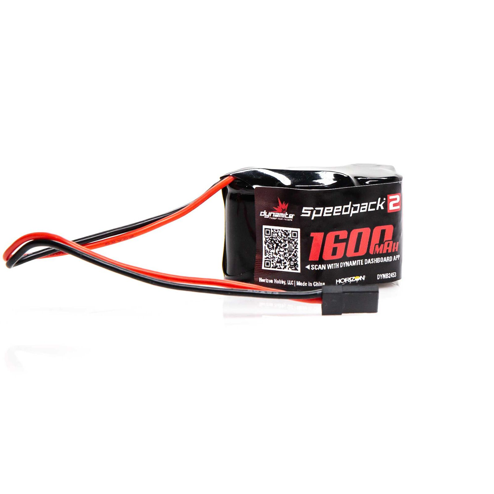 Speedpack2 6V 1600mAh 5C NiMH, 3+2 Hump Receiver Pack